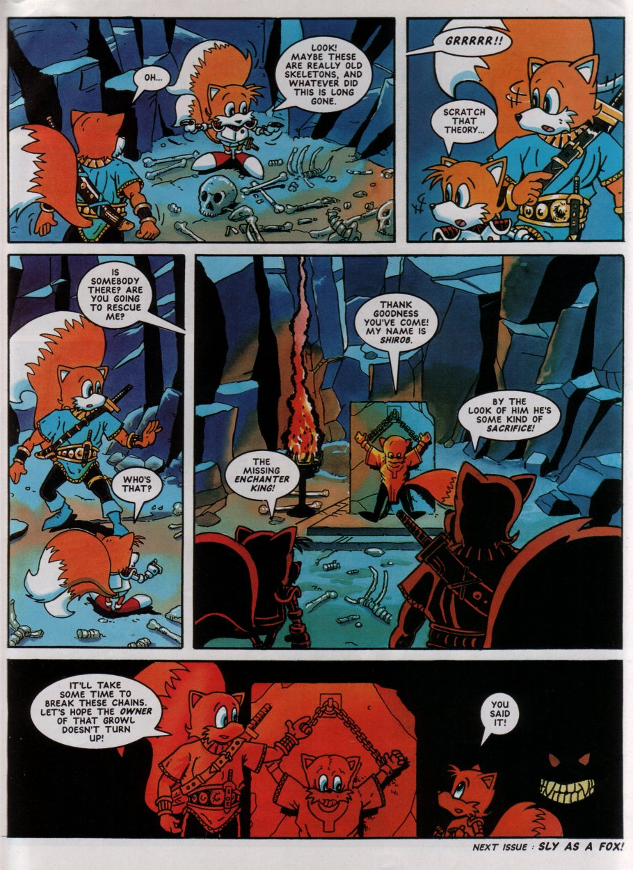 Sonic - The Comic Issue No. 019 Page 29