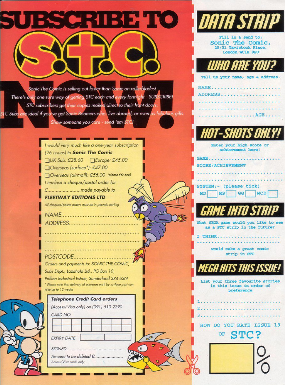 Sonic - The Comic Issue No. 019 Page 31