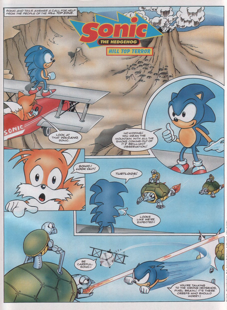 Sonic - The Comic Issue No. 020 Page 2
