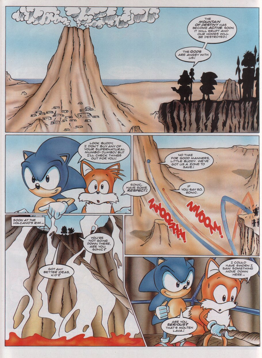 Sonic - The Comic Issue No. 020 Page 4
