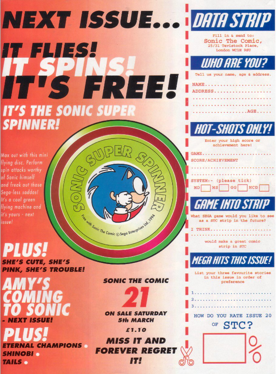Sonic - The Comic Issue No. 020 Page 31