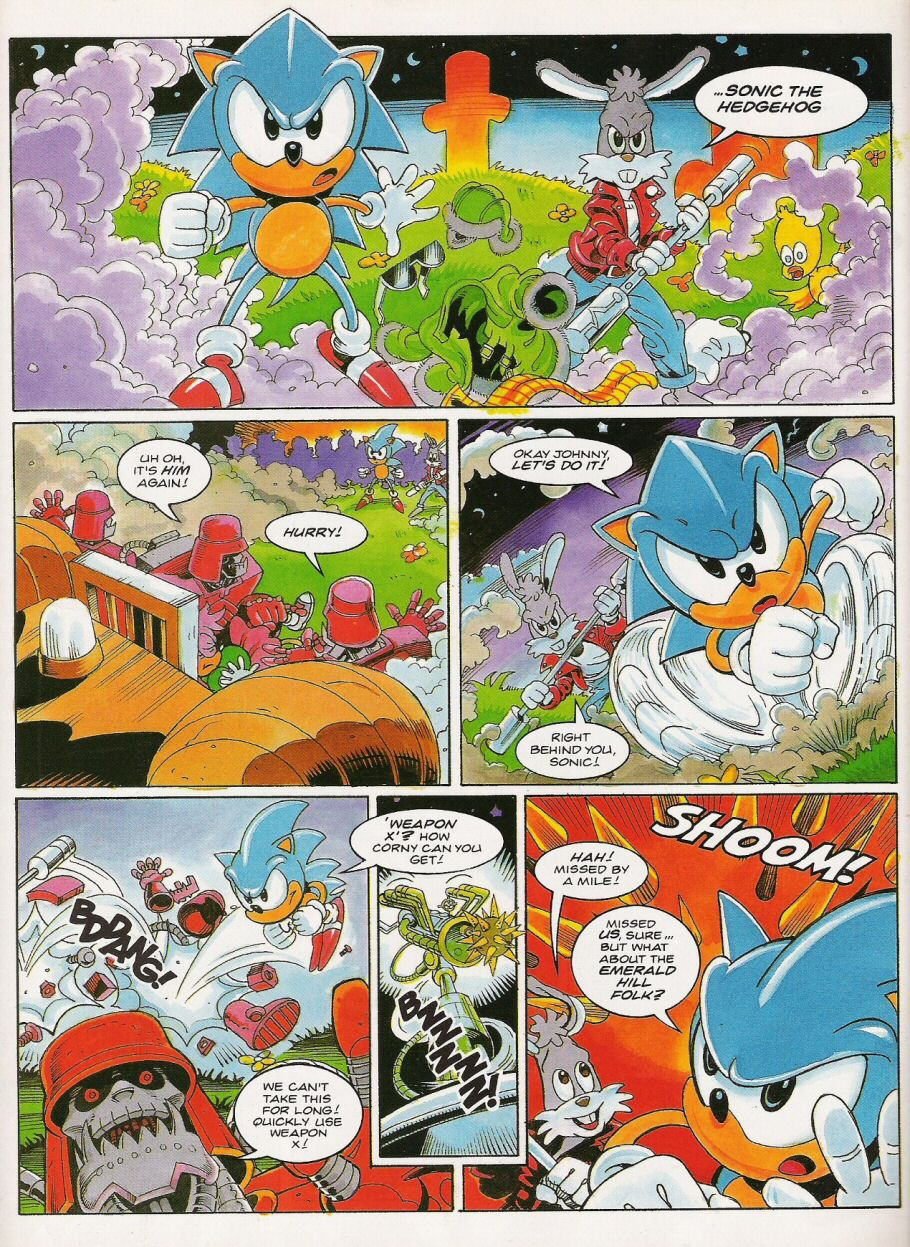 Sonic - The Comic Issue No. 021 Page 3