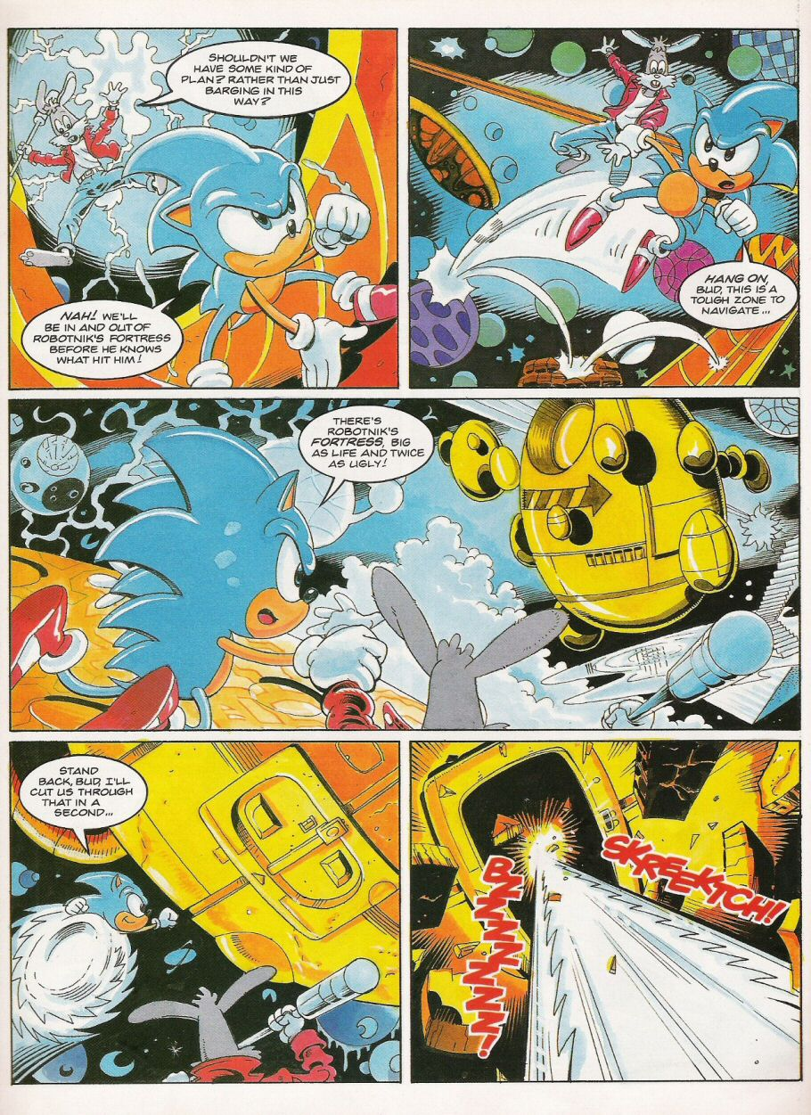 Sonic - The Comic Issue No. 021 Page 7