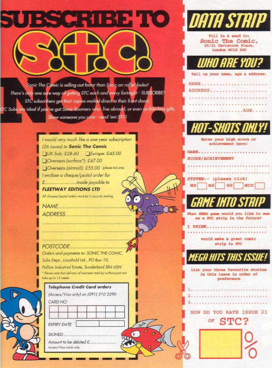 Sonic - The Comic Issue No. 021 Page 30