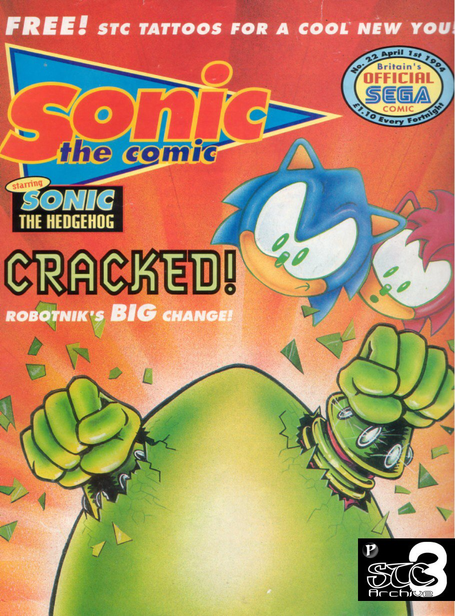Sonic - The Comic Issue No. 022 Comic cover page