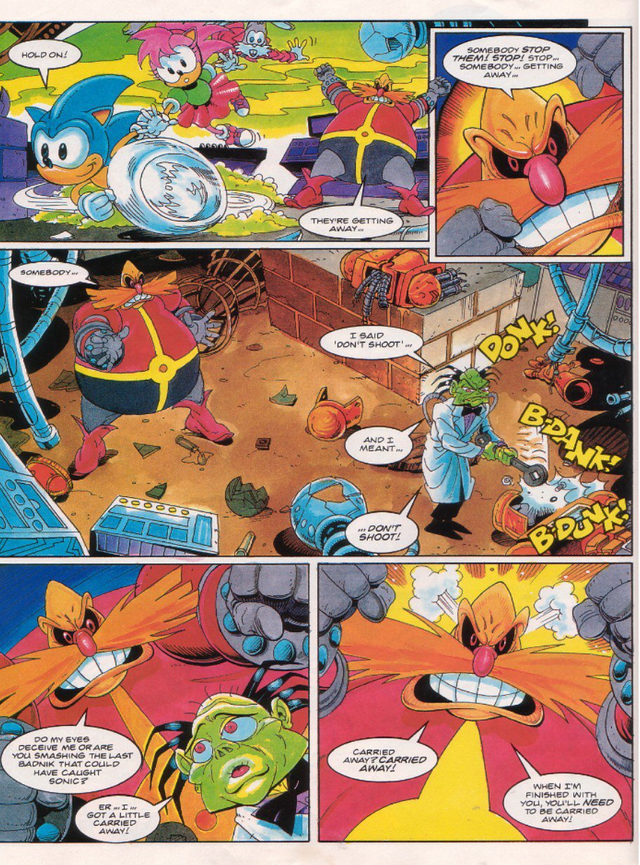 Sonic - The Comic Issue No. 022 Page 7