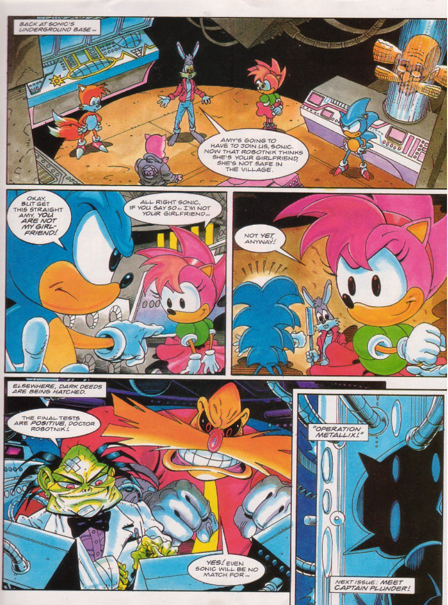 Sonic - The Comic Issue No. 022 Page 8