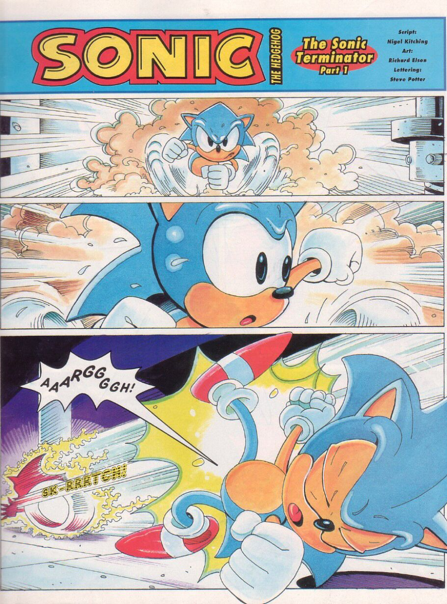 Sonic - The Comic Issue No. 024 Page 2