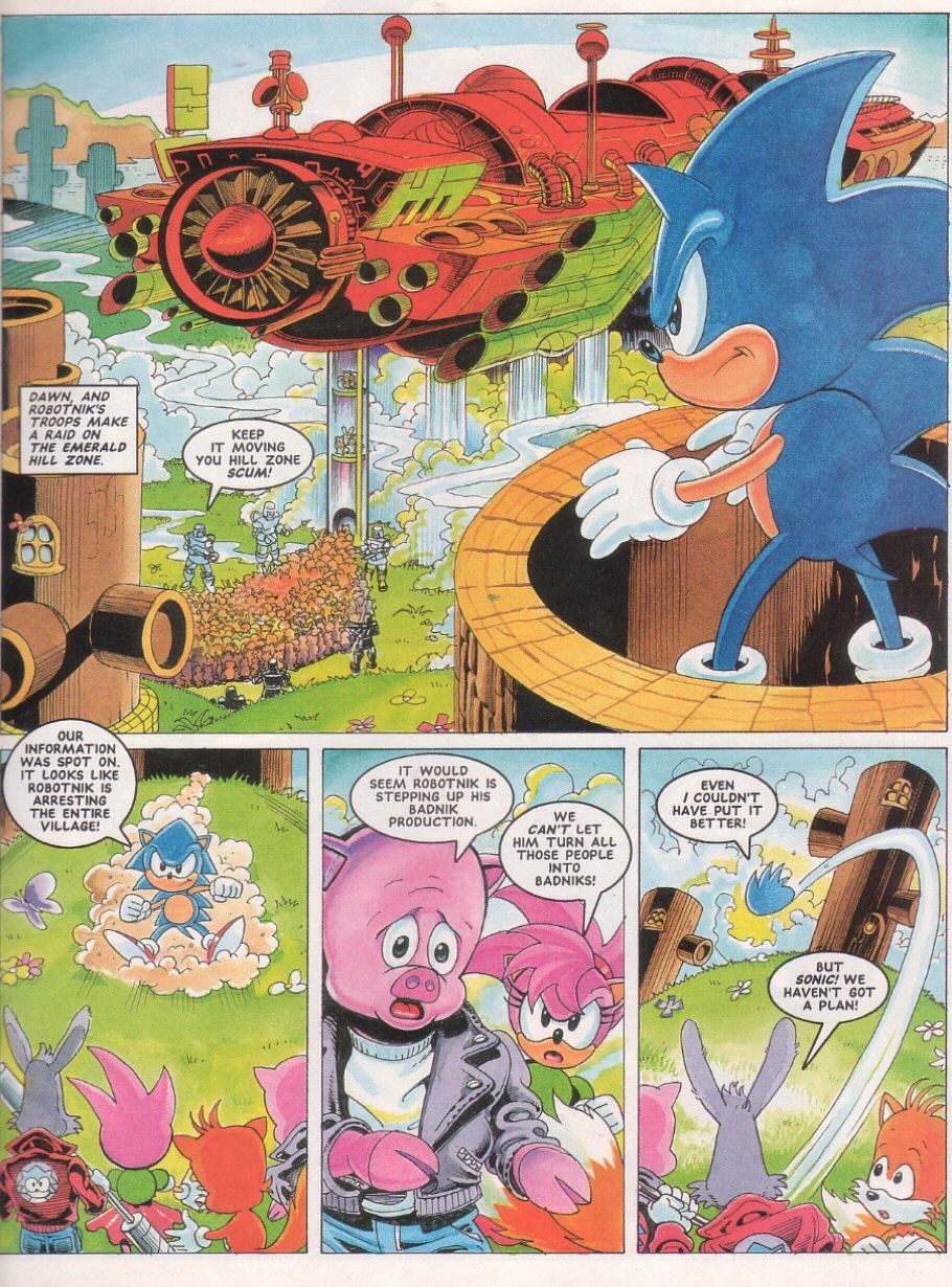 Sonic - The Comic Issue No. 024 Page 4