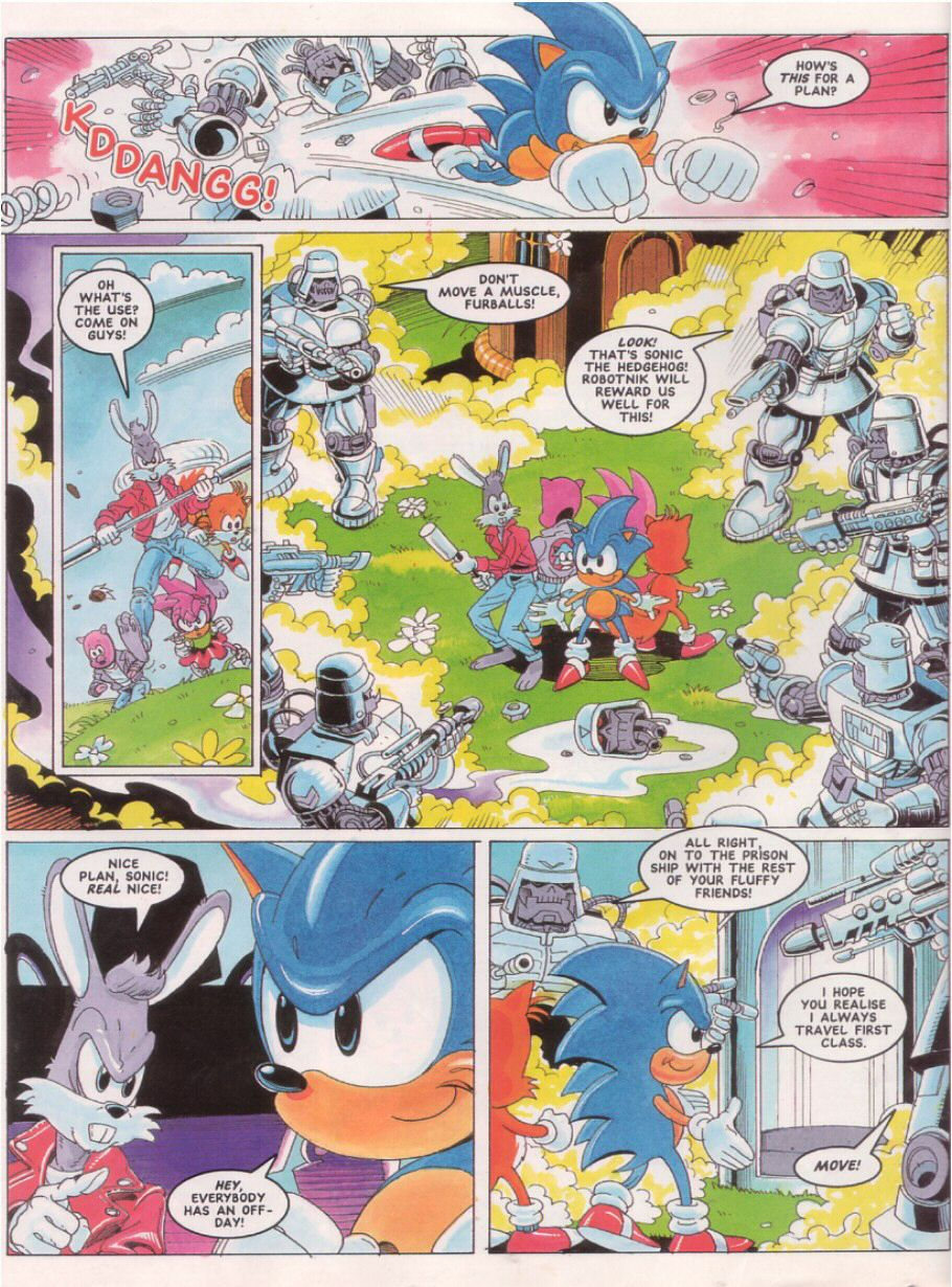Sonic - The Comic Issue No. 024 Page 5