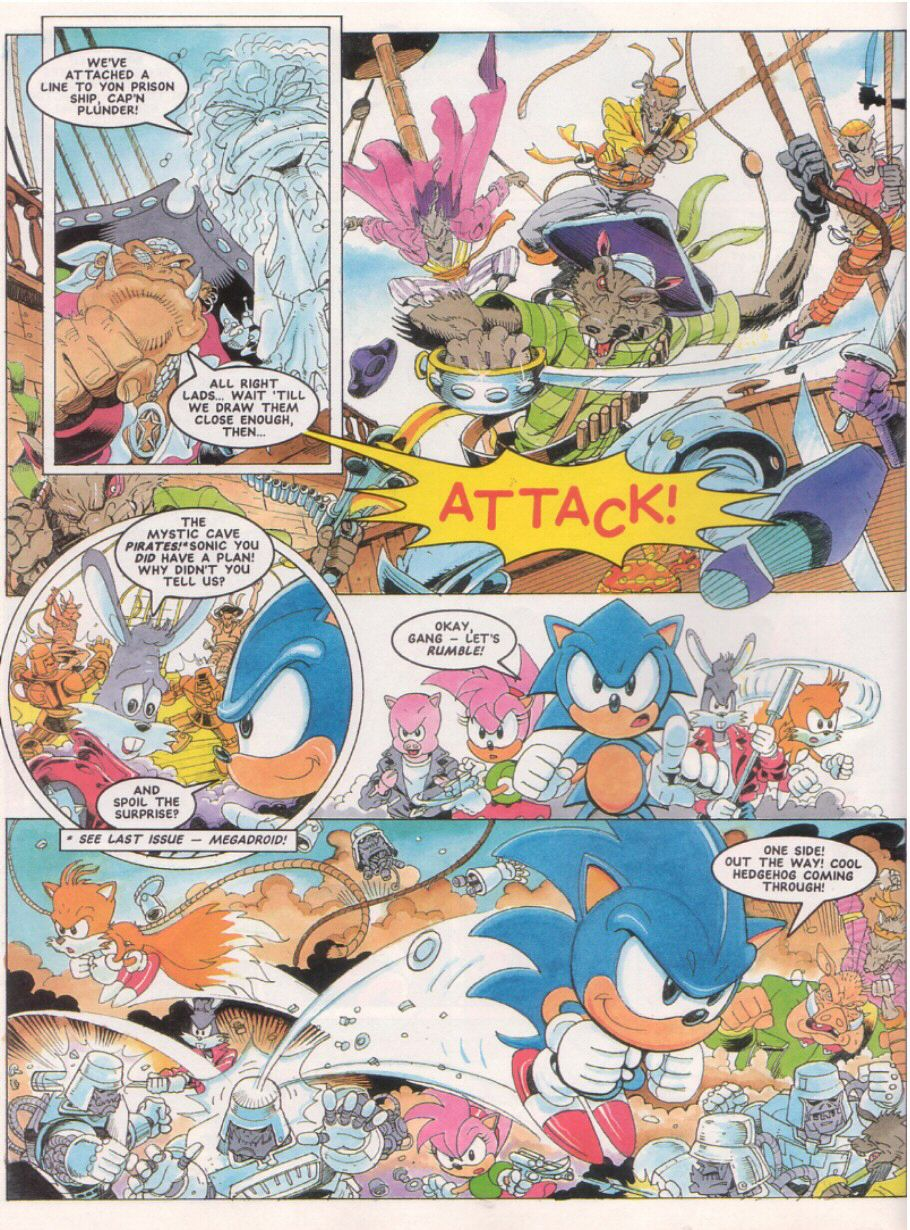 Sonic - The Comic Issue No. 024 Page 7