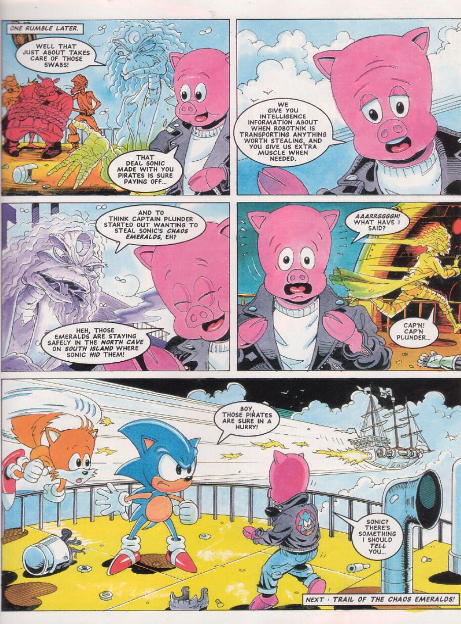 Sonic - The Comic Issue No. 024 Page 8