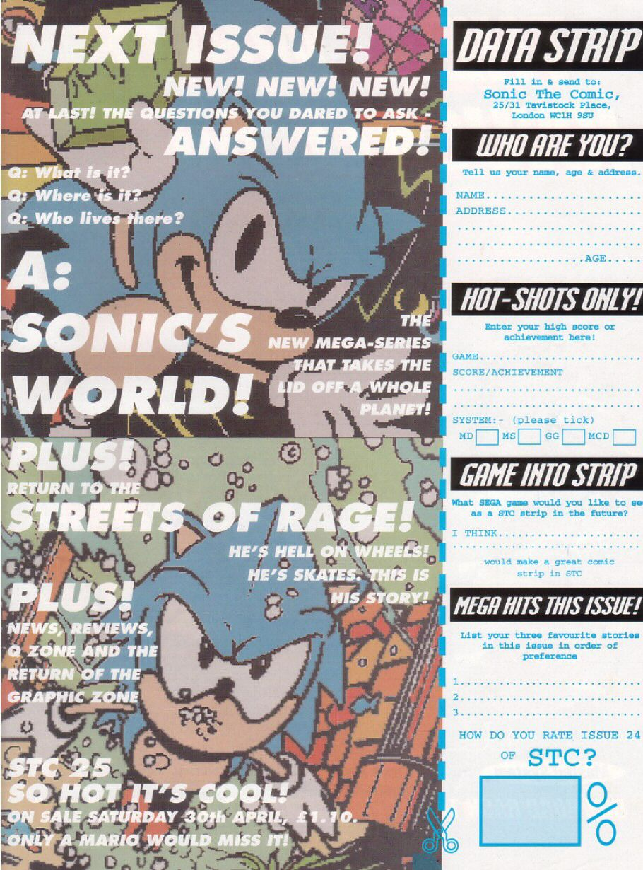 Sonic - The Comic Issue No. 024 Page 30