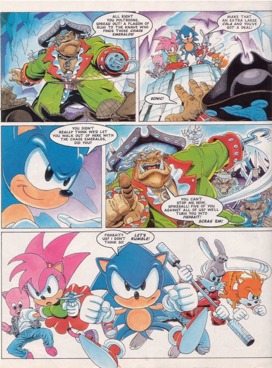 Sonic - The Comic Issue No. 025 Page 3