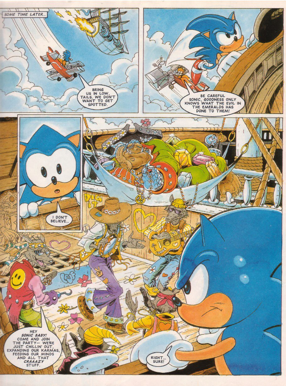 Sonic - The Comic Issue No. 025 Page 6