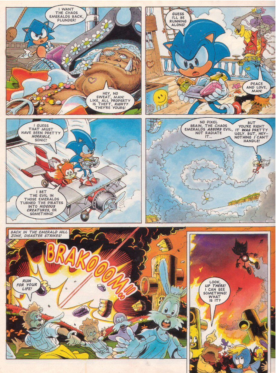 Sonic - The Comic Issue No. 025 Page 7