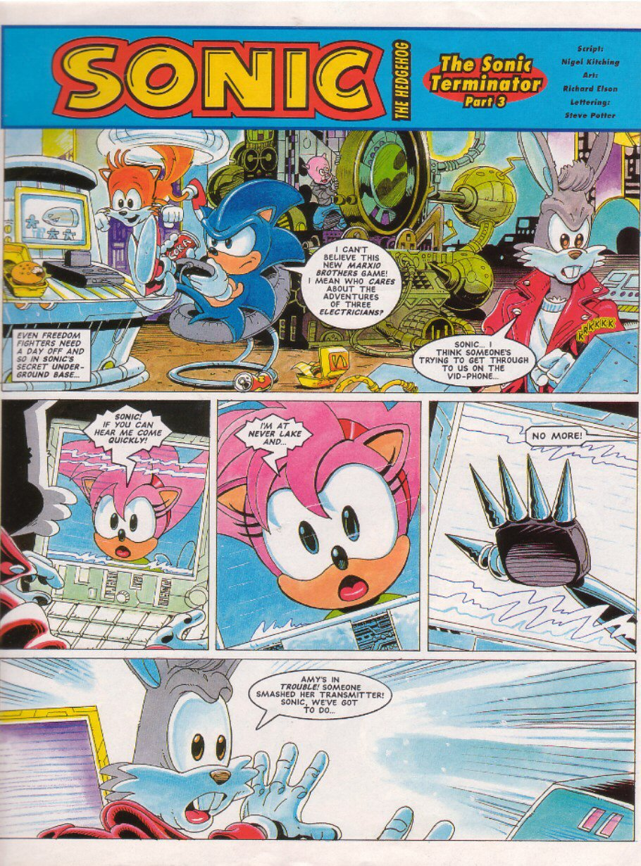Sonic - The Comic Issue No. 026 Page 2