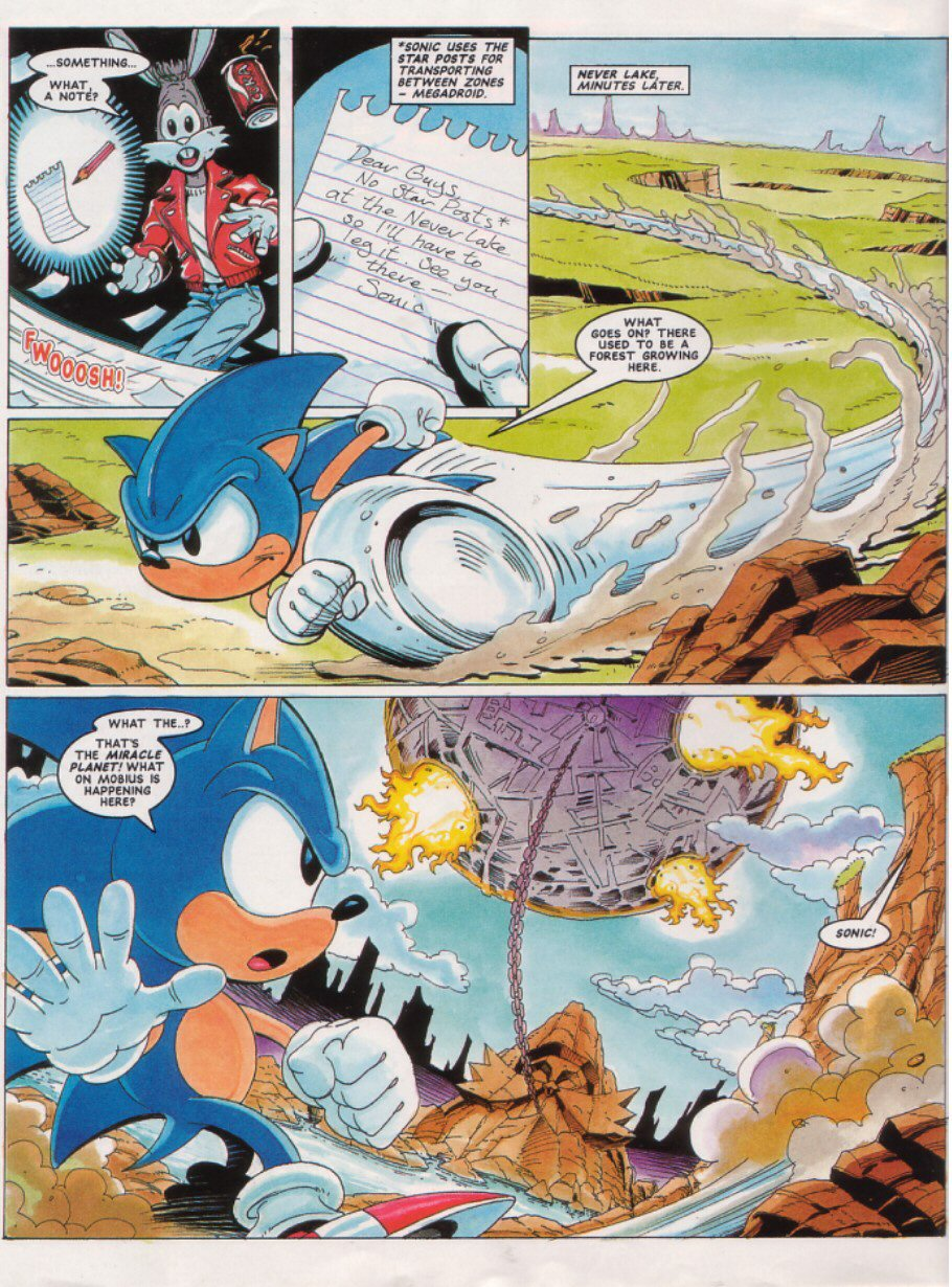 Sonic - The Comic Issue No. 026 Page 3