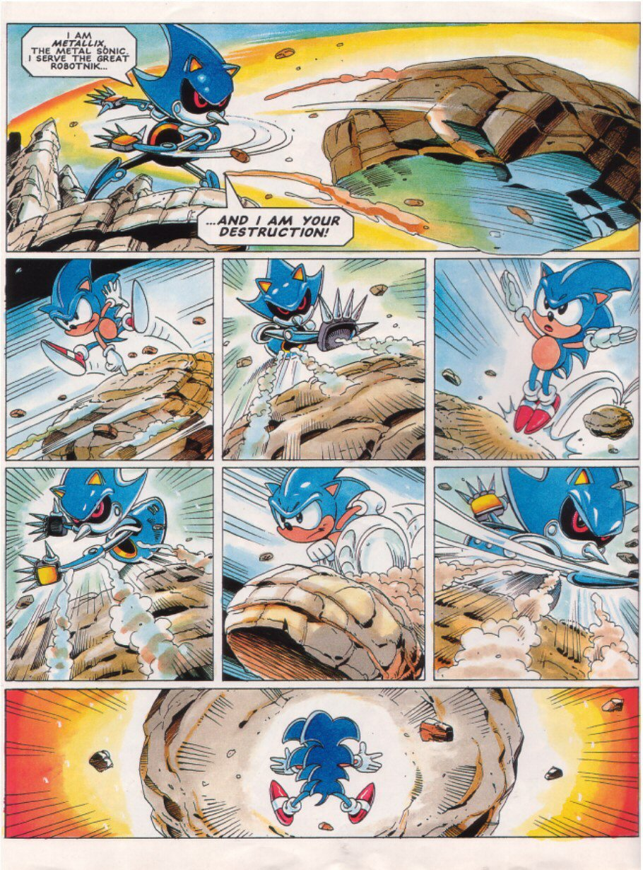 Sonic - The Comic Issue No. 026 Page 5