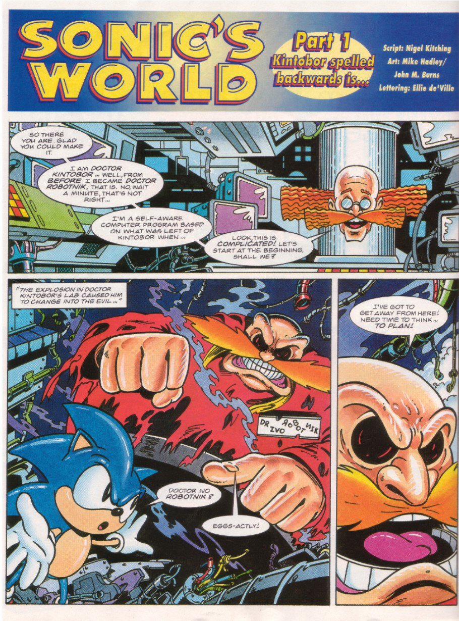 Sonic - The Comic Issue No. 026 Page 18