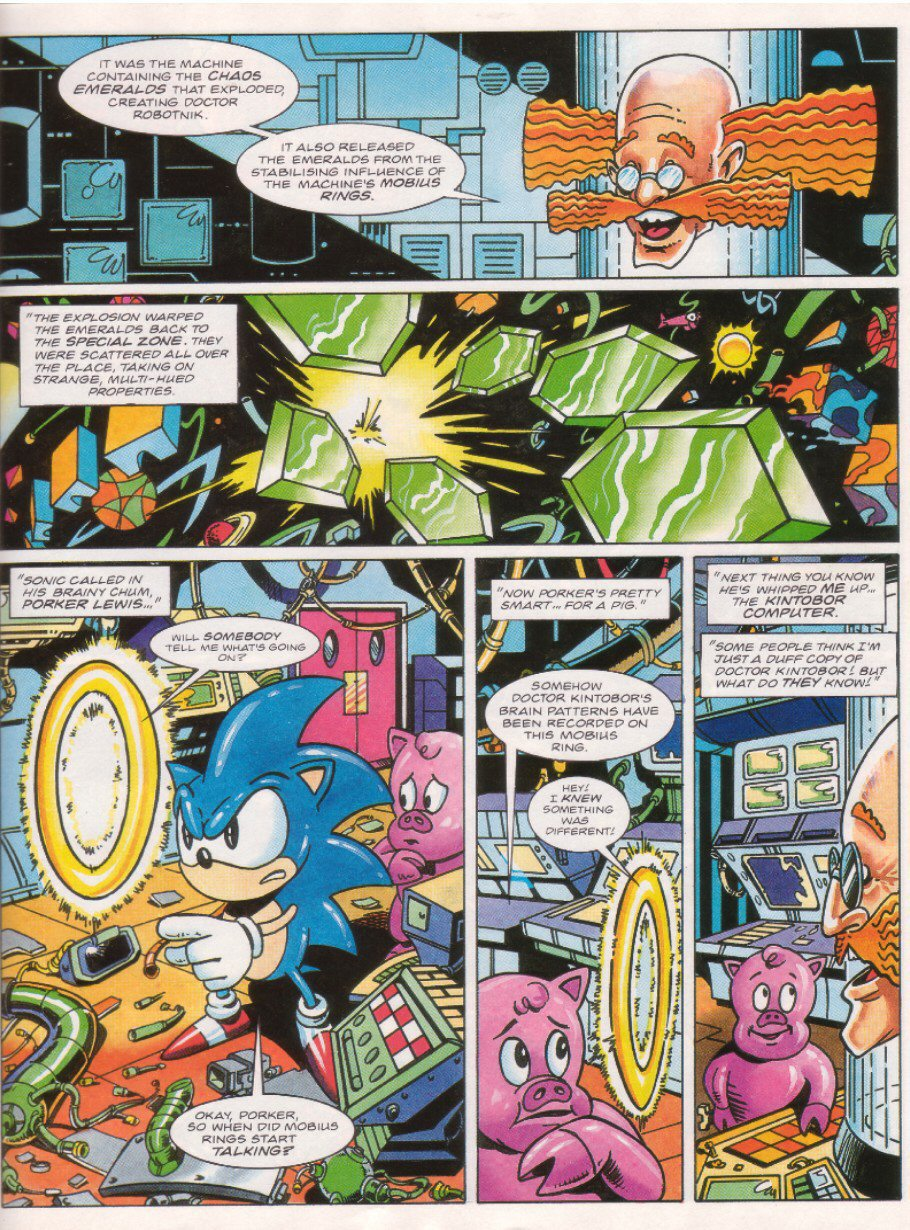 Sonic - The Comic Issue No. 026 Page 19