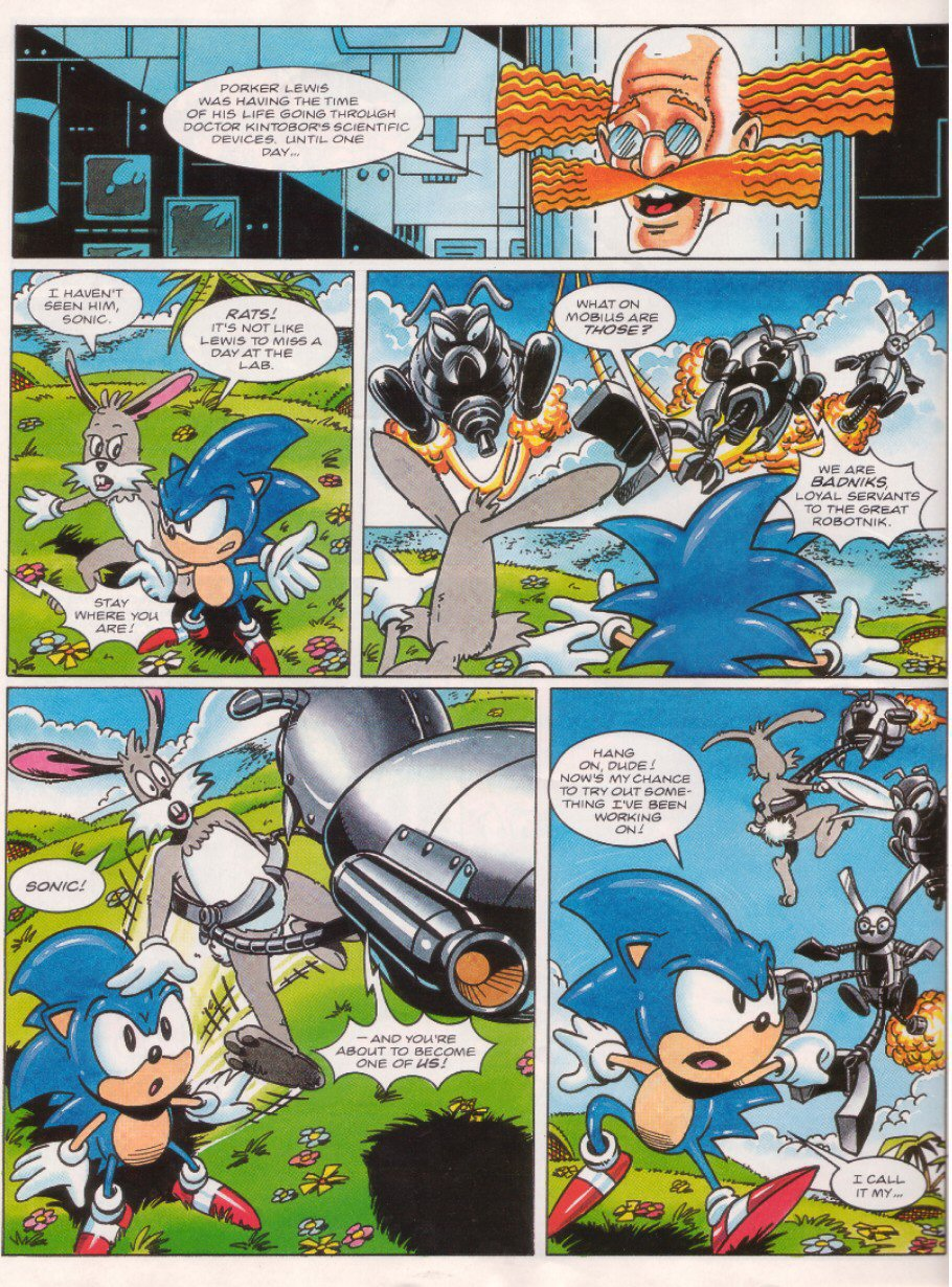 Sonic - The Comic Issue No. 026 Page 20