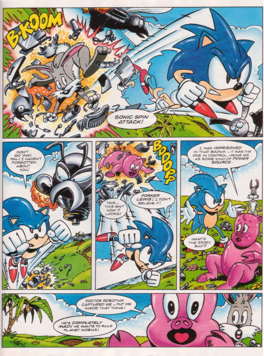 Sonic - The Comic Issue No. 026 Page 21