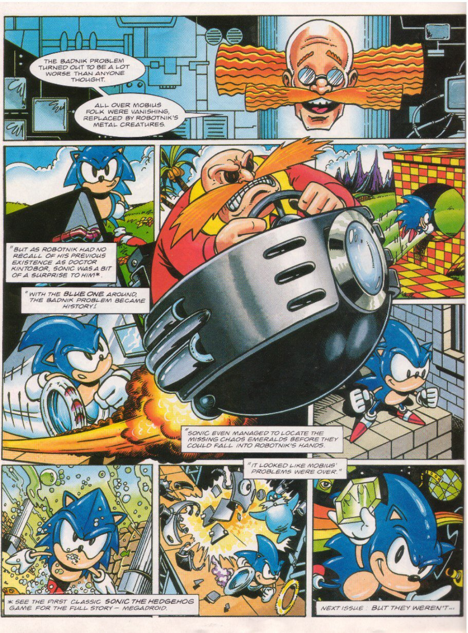 Sonic - The Comic Issue No. 026 Page 22