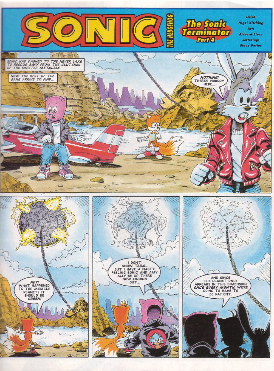 Sonic - The Comic Issue No. 027 Page 2