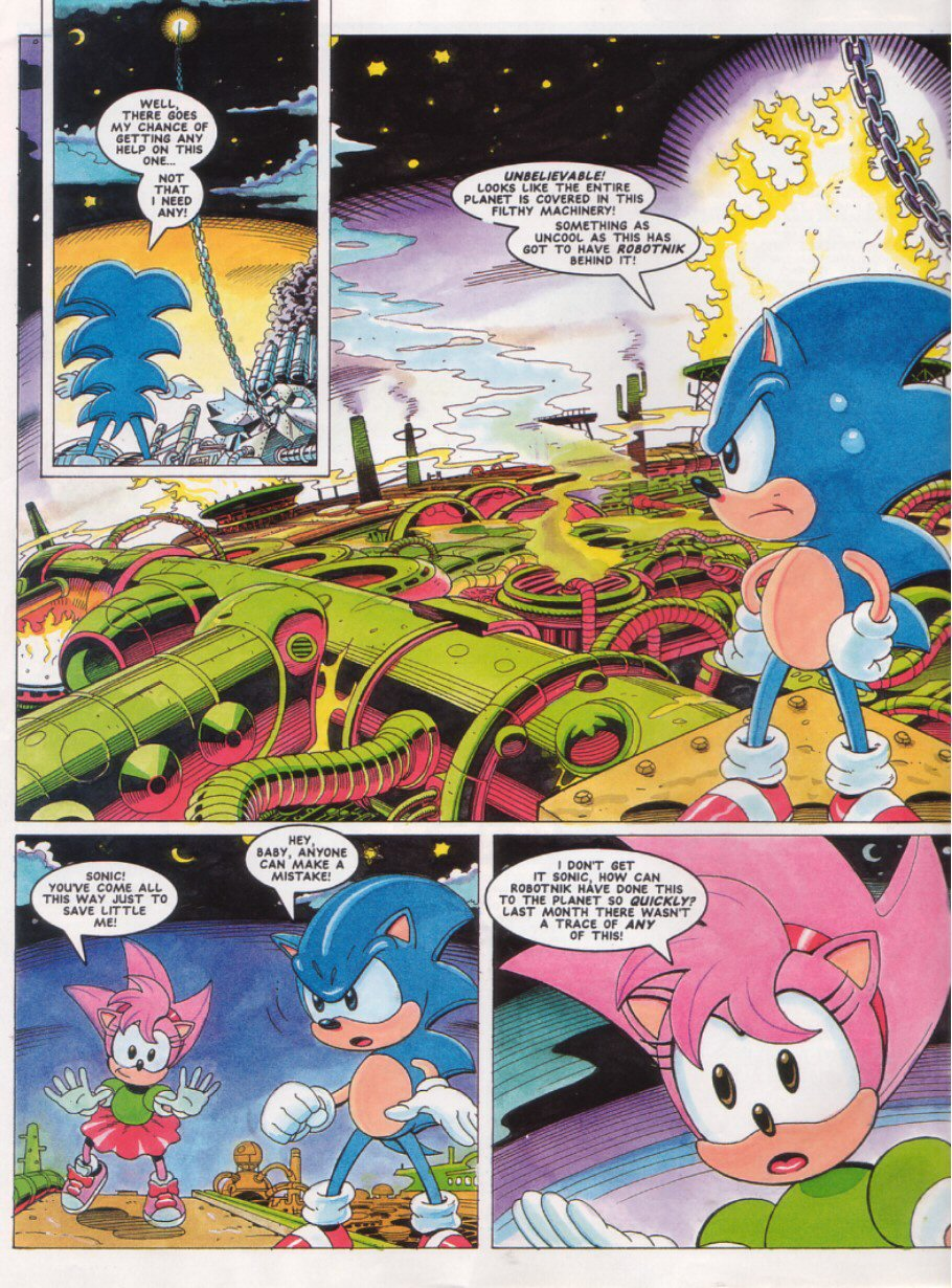 Sonic - The Comic Issue No. 027 Page 3