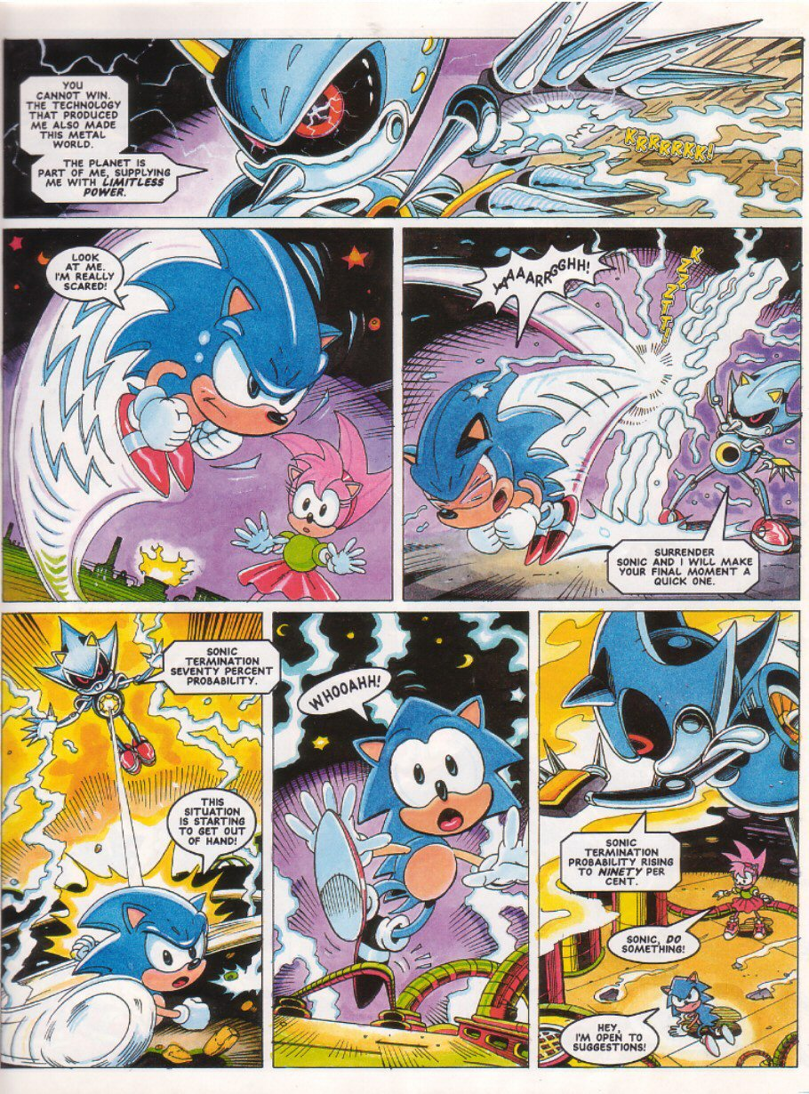 Sonic - The Comic Issue No. 027 Page 6