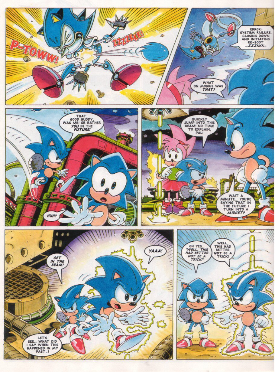 Sonic - The Comic Issue No. 027 Page 7