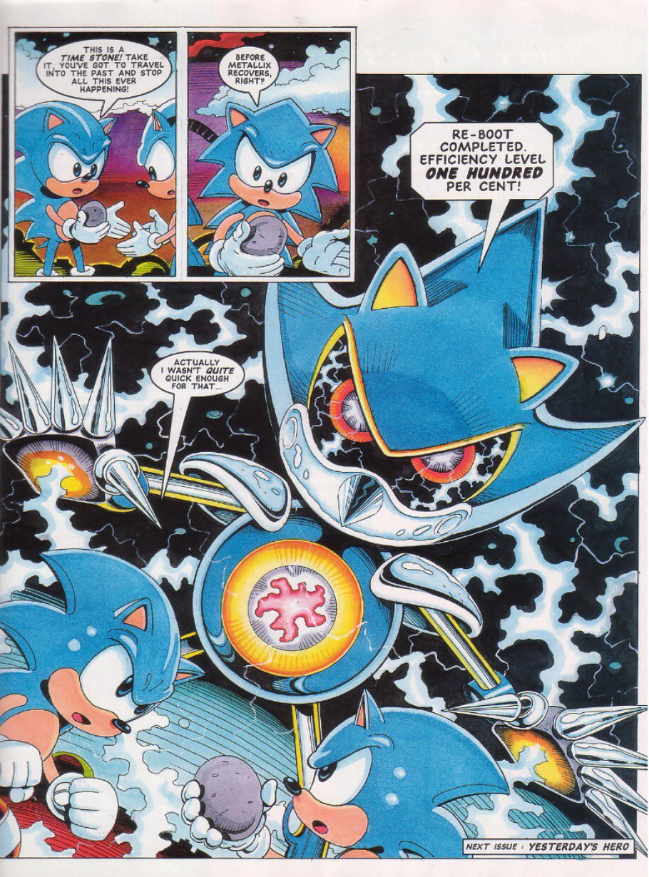Sonic - The Comic Issue No. 027 Page 8