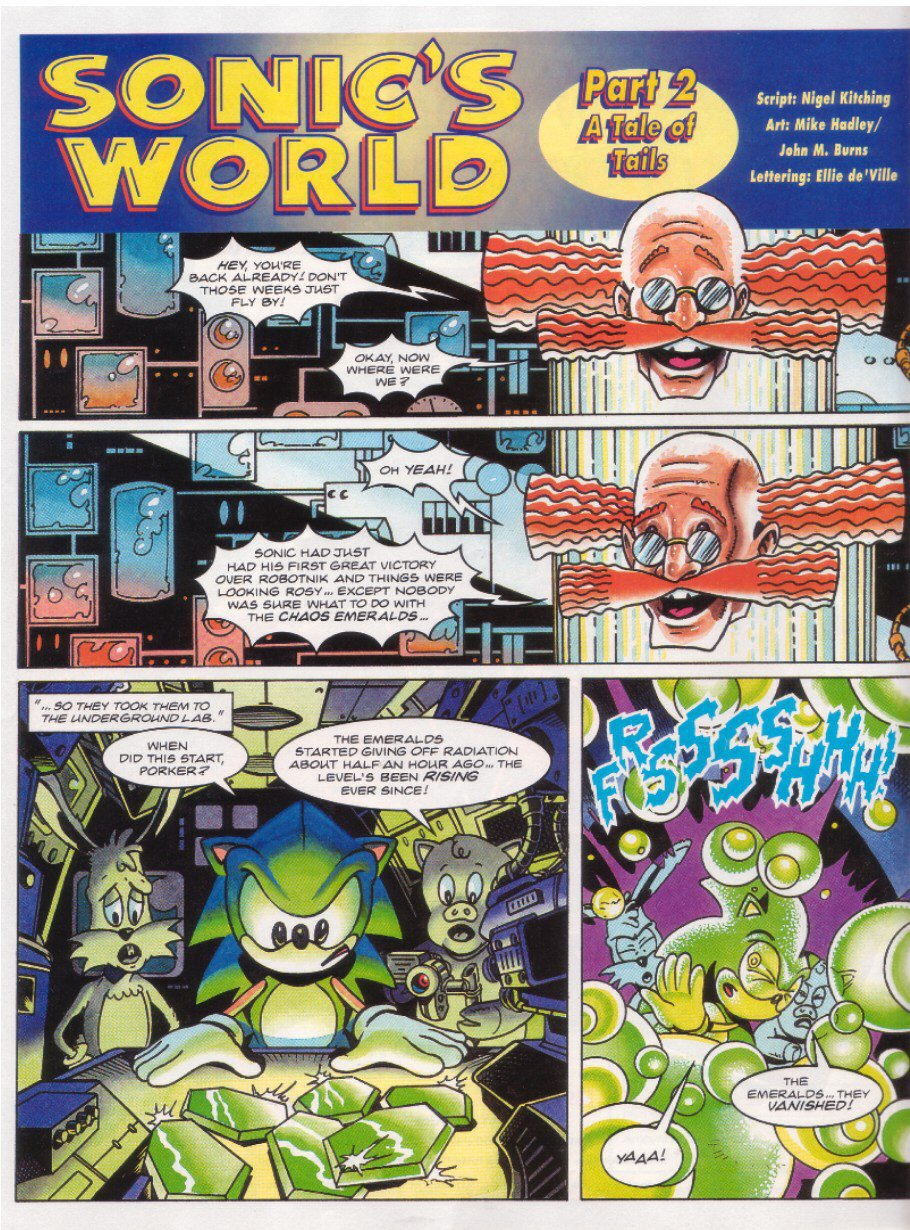 Sonic - The Comic Issue No. 027 Page 18