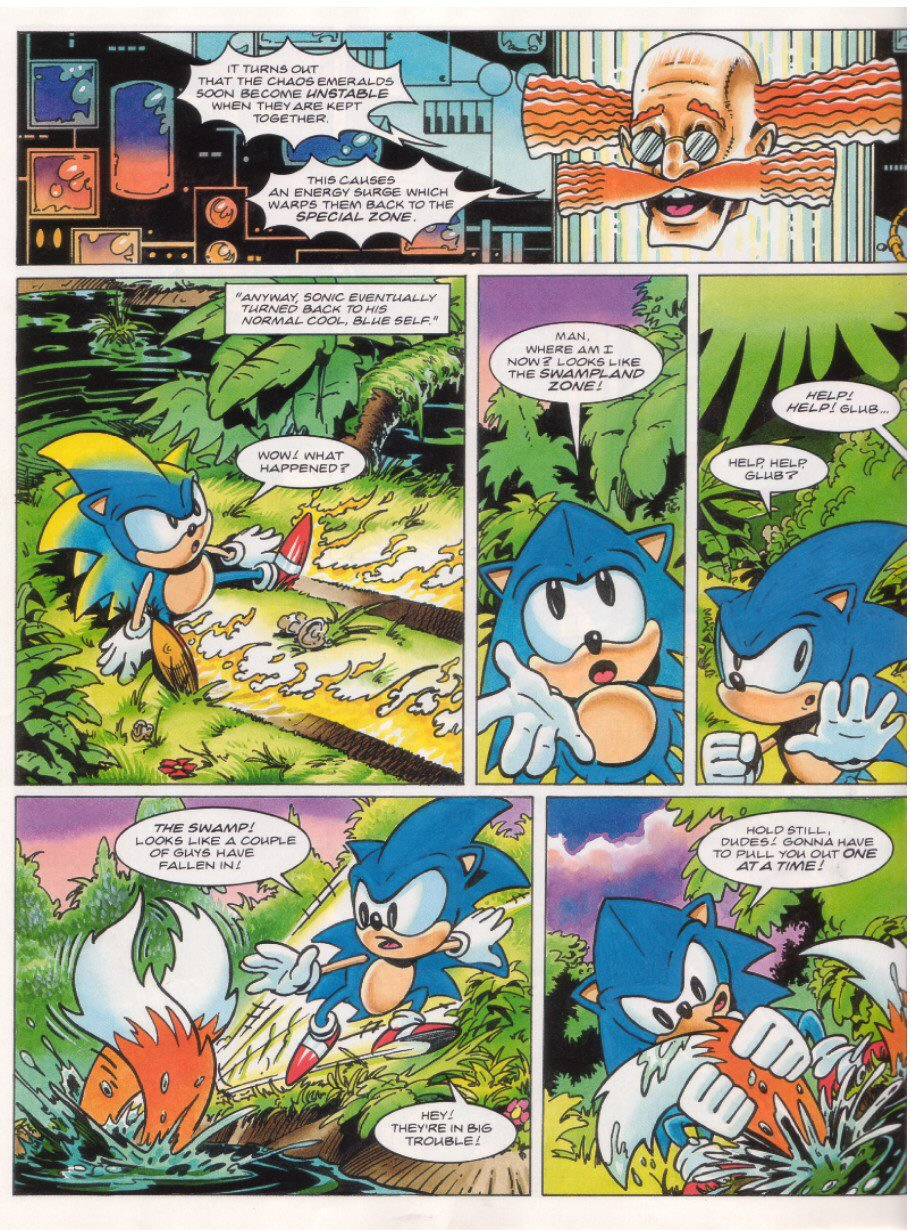 Sonic - The Comic Issue No. 027 Page 20