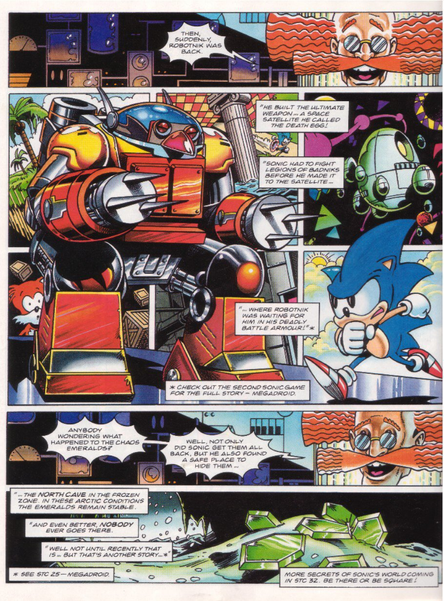 Sonic - The Comic Issue No. 027 Page 22