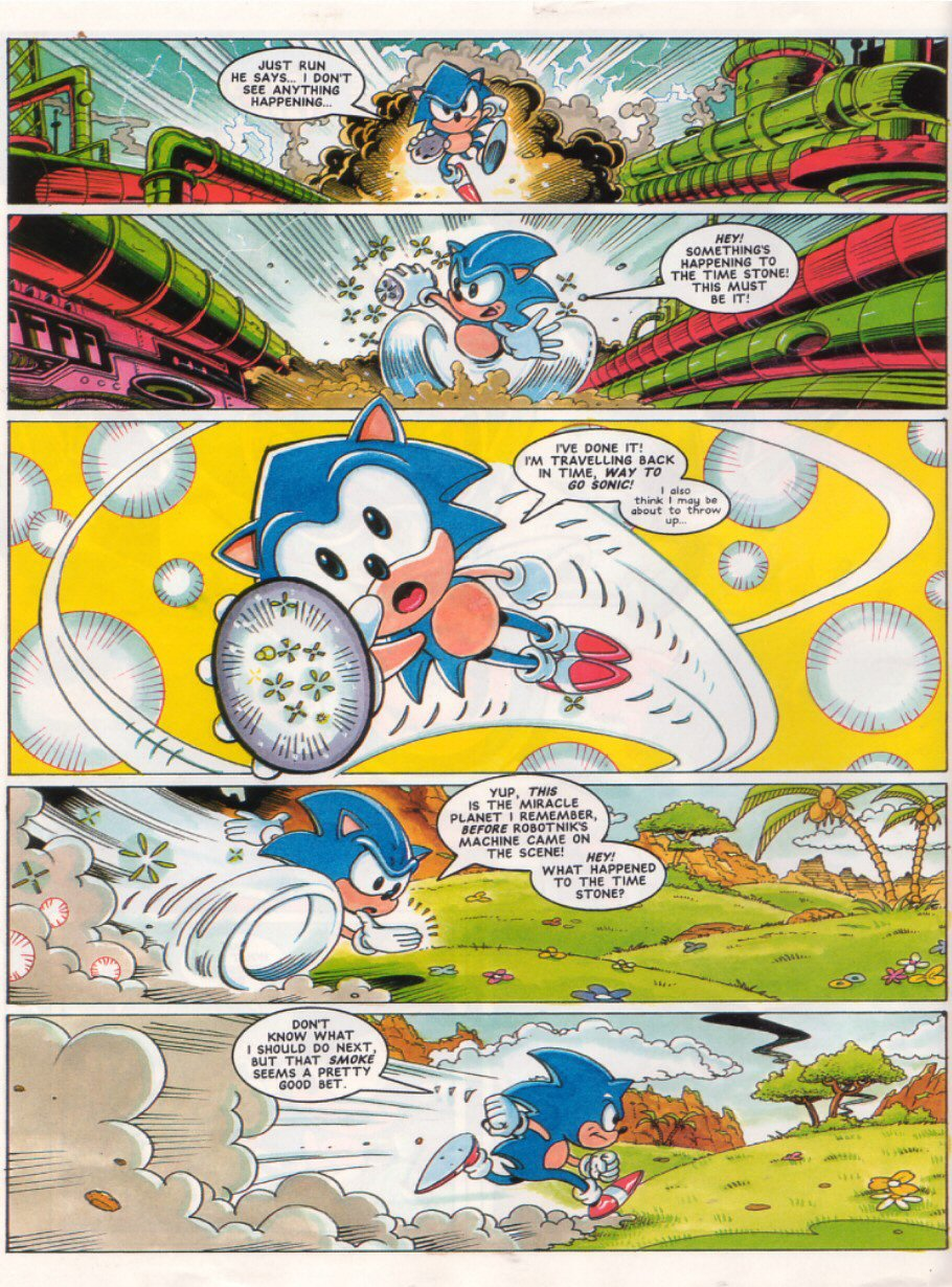 Sonic - The Comic Issue No. 028 Page 3