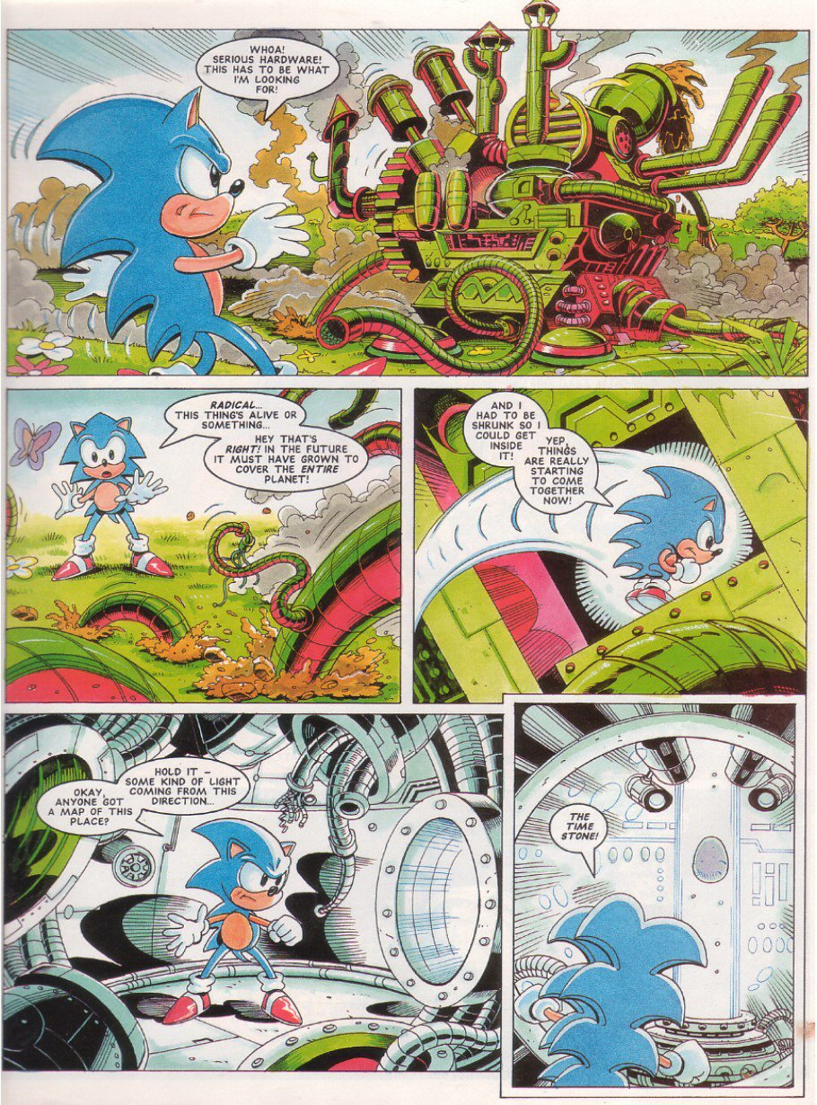 Sonic - The Comic Issue No. 028 Page 4