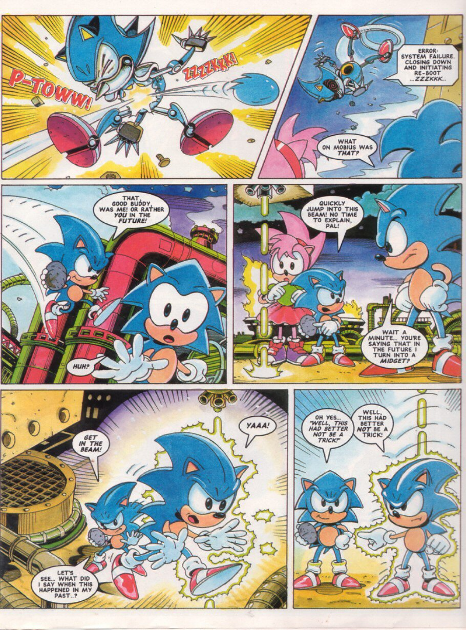 Sonic - The Comic Issue No. 028 Page 6