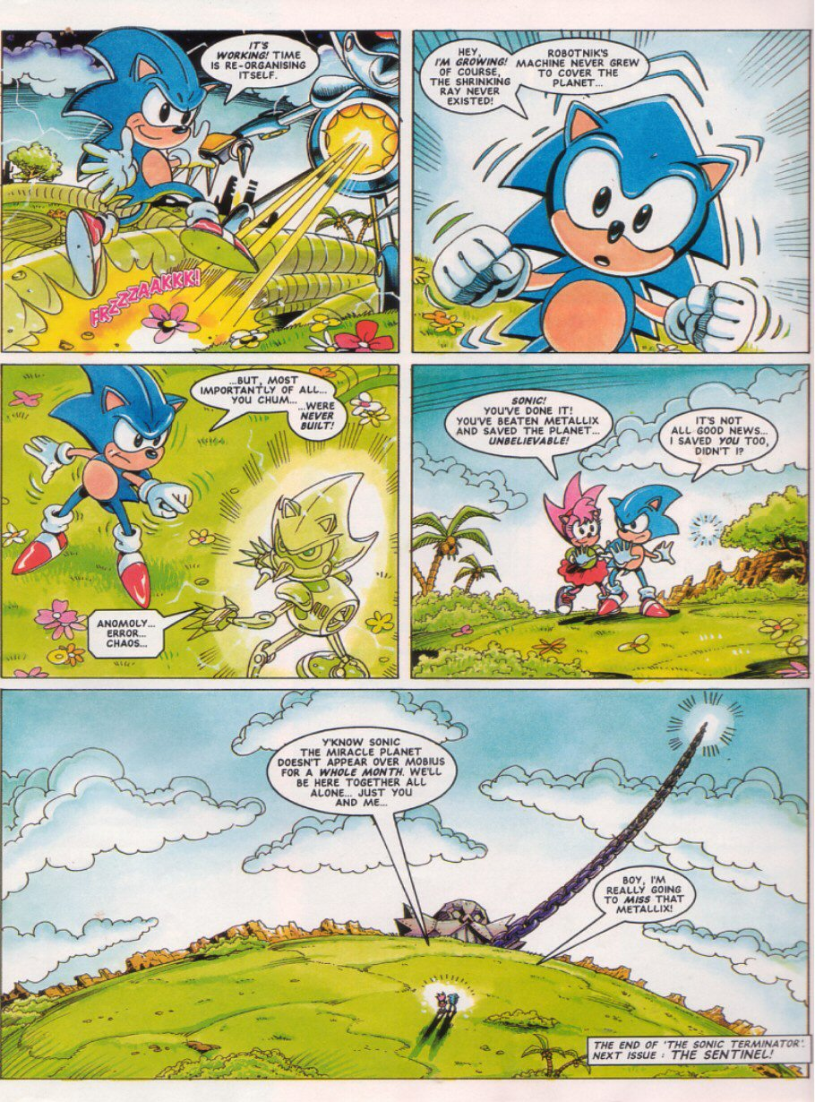 Sonic - The Comic Issue No. 028 Page 8