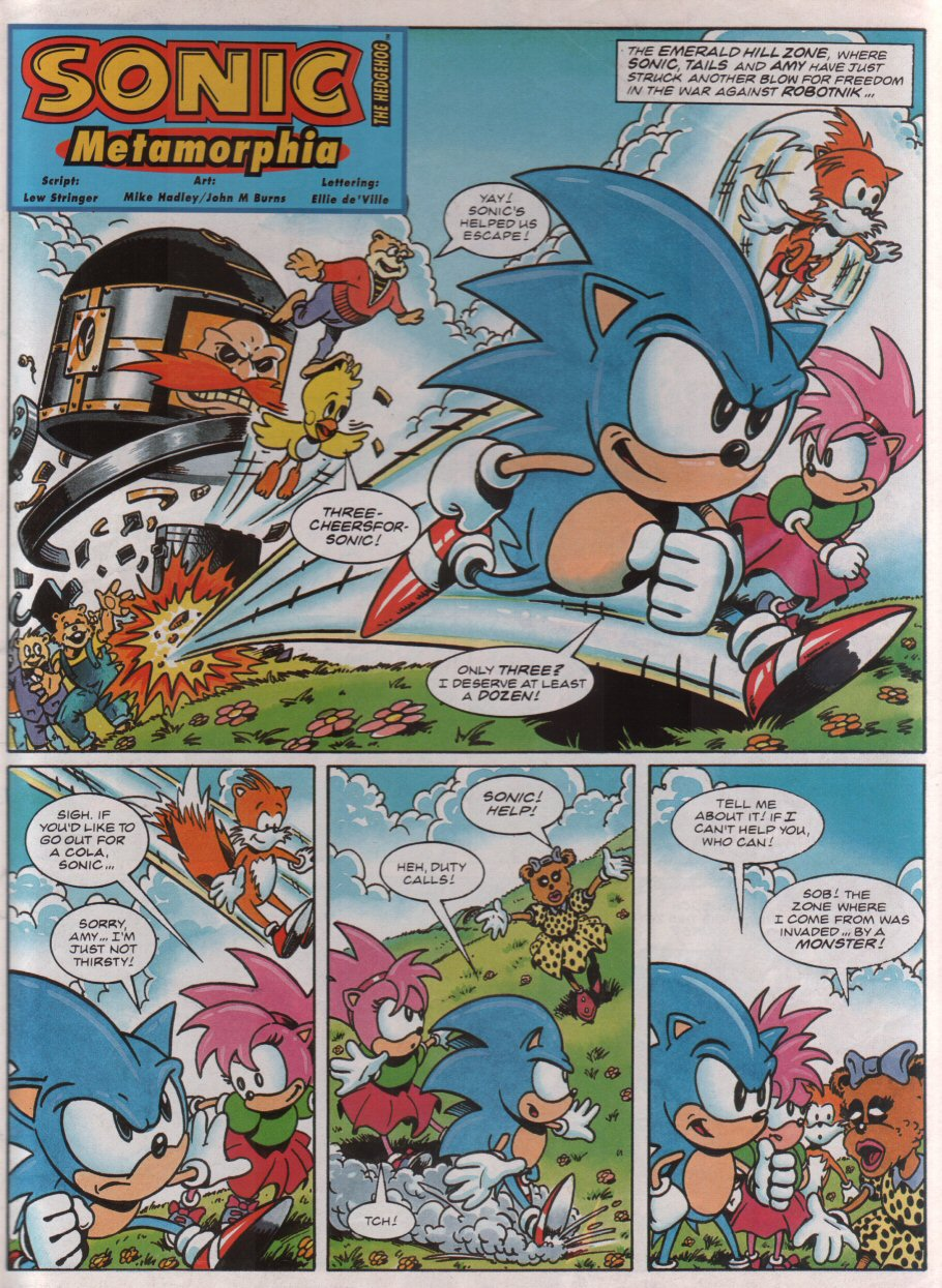 Sonic - The Comic Issue No. 030 Page 2