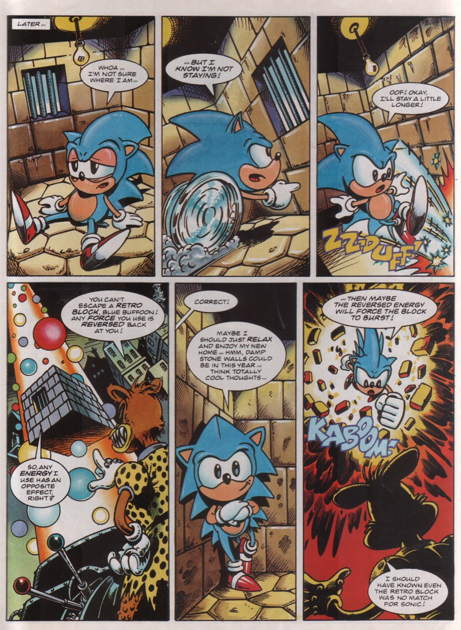 Sonic - The Comic Issue No. 030 Page 6