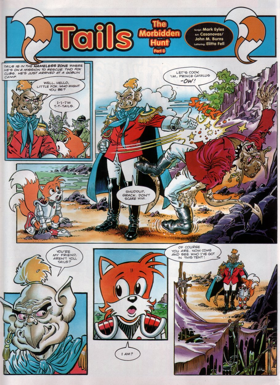 Sonic - The Comic Issue No. 030 Page 20