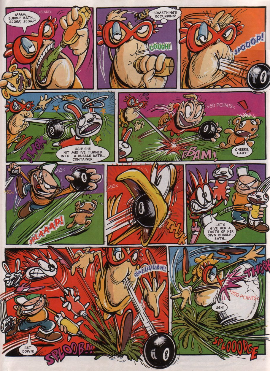 Sonic - The Comic Issue No. 030 Page 27