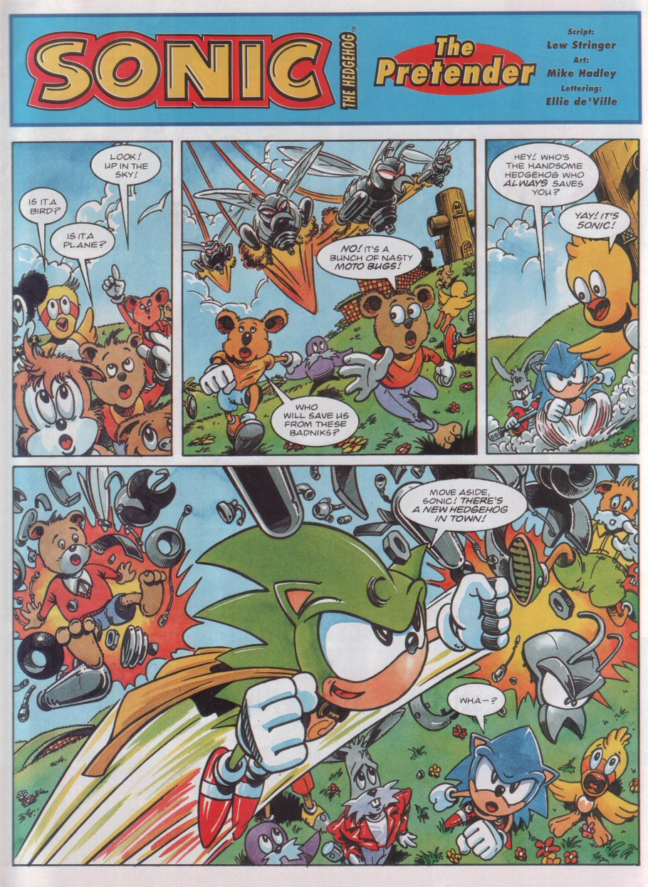Sonic - The Comic Issue No. 031 Page 2