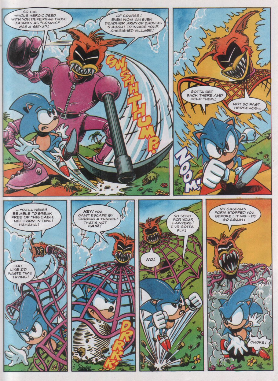 Sonic - The Comic Issue No. 031 Page 6