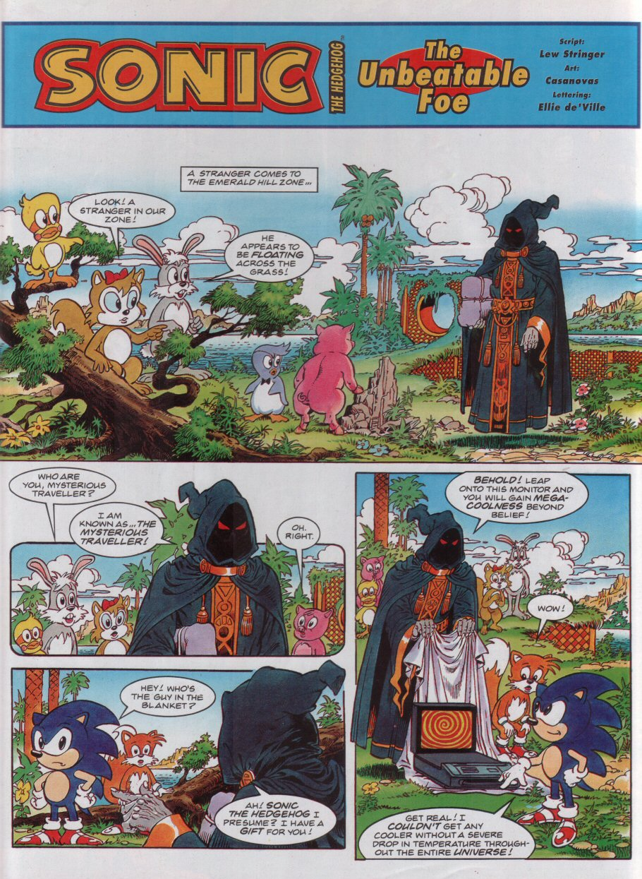 Sonic - The Comic Issue No. 032 Page 2