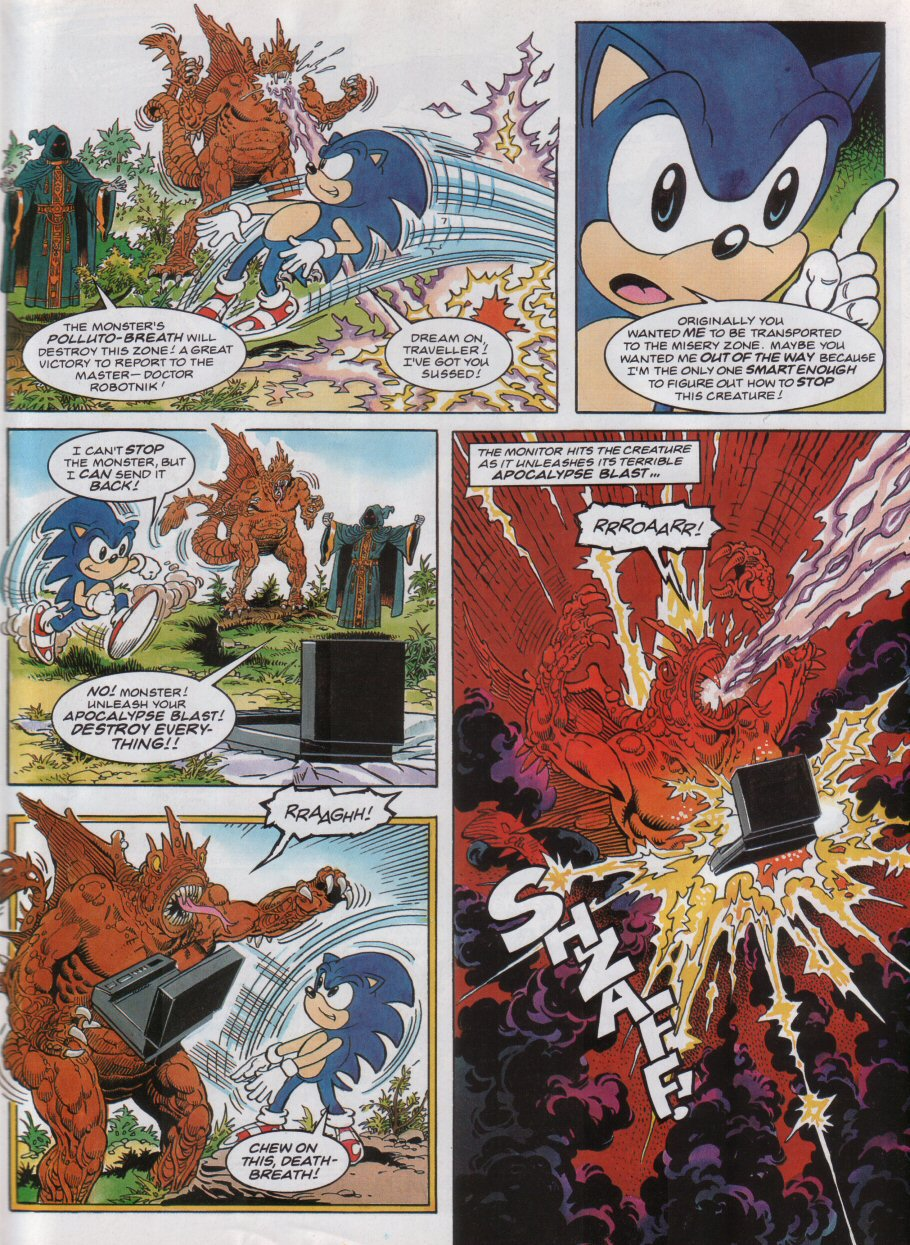 Sonic - The Comic Issue No. 032 Page 7