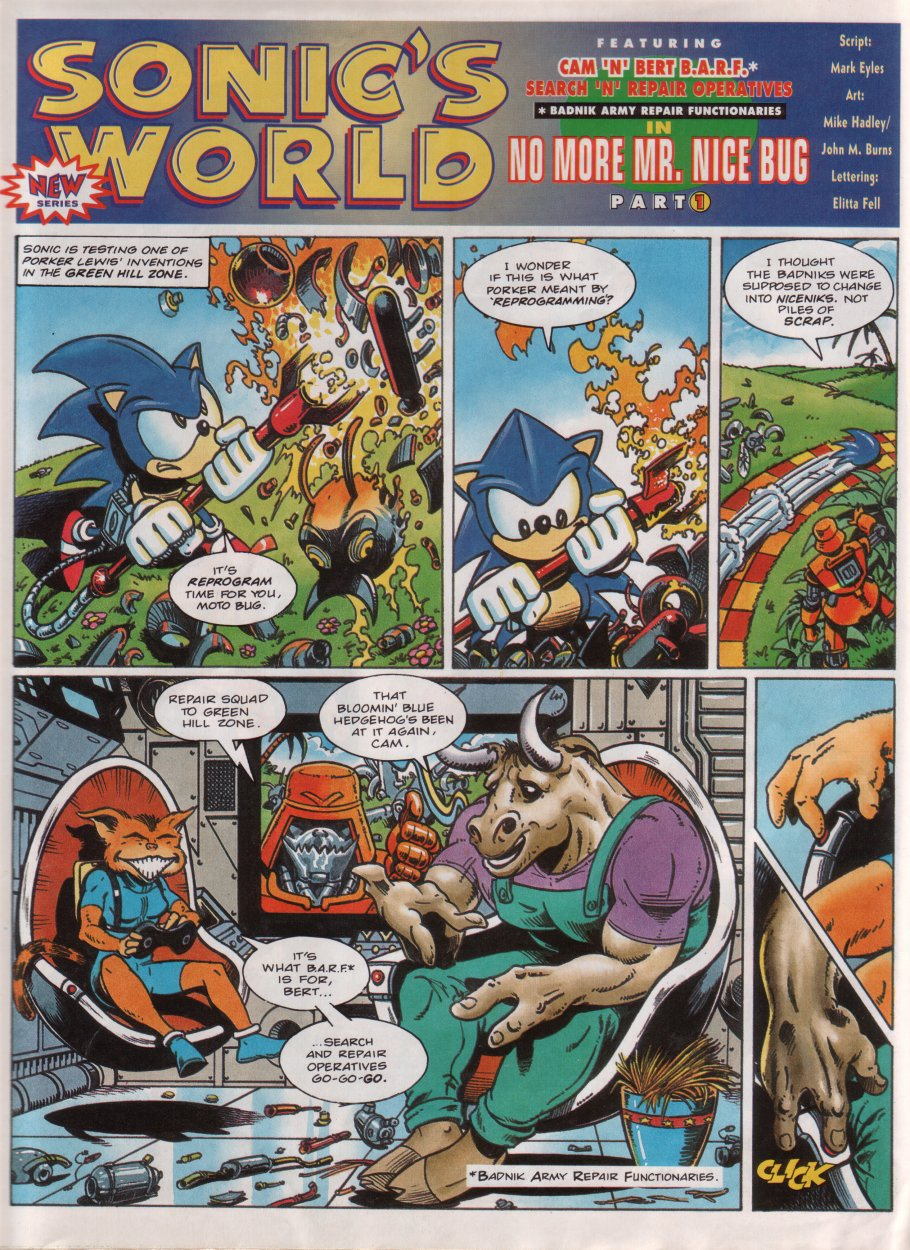Sonic - The Comic Issue No. 032 Page 18