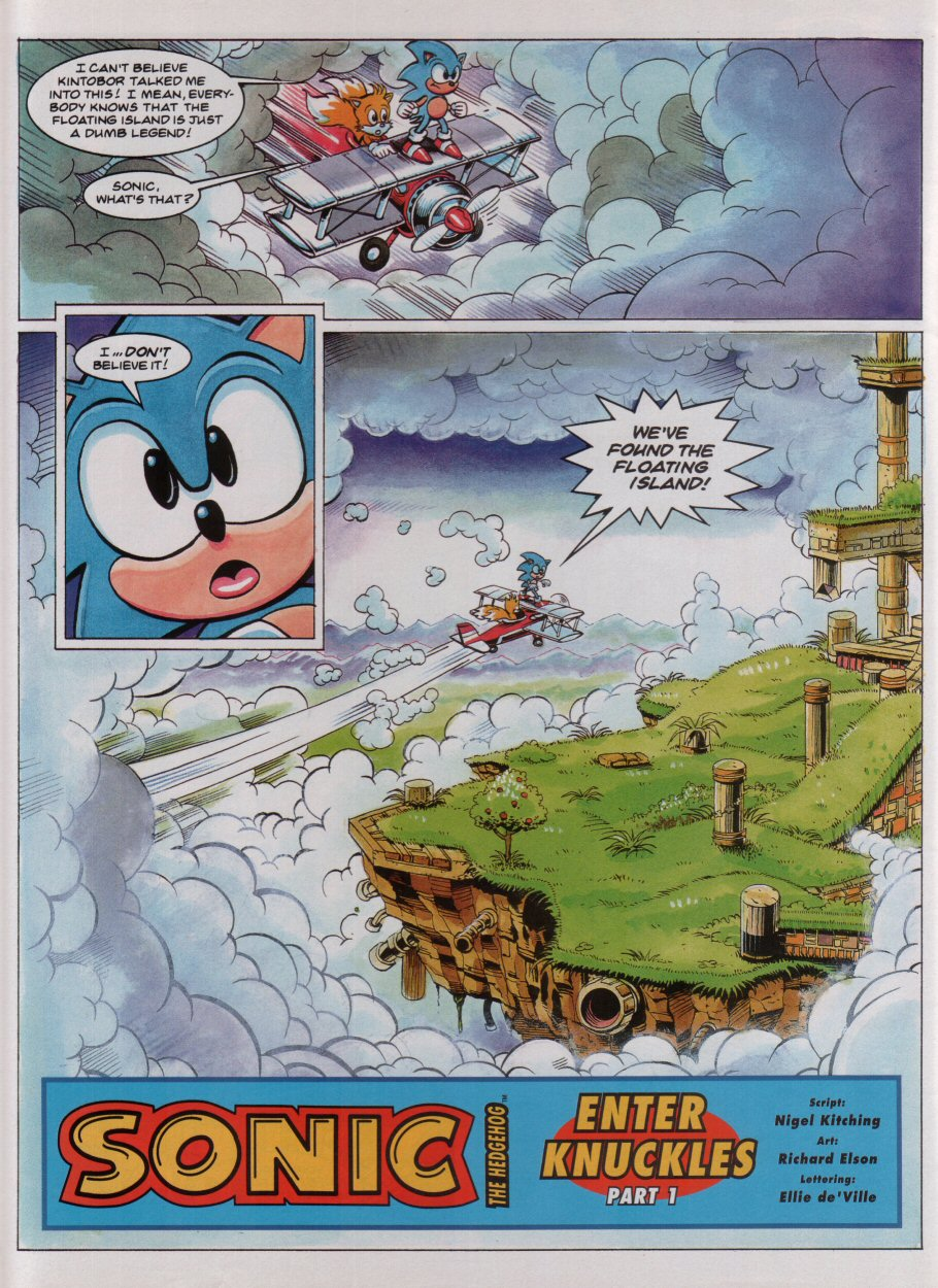 Sonic - The Comic Issue No. 033 Page 3